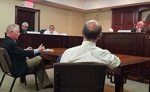 Group Health Insurance discussion with two agencies.