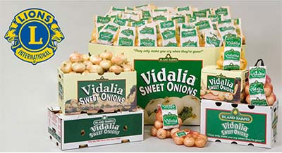 Jasper Lions Club's Vidalia Onion Sale Begins March 1st