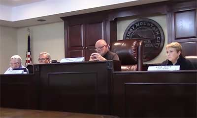 Jasper City Council November 2015 (Video)