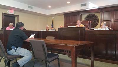 Jasper City Council August 2016 (Video)