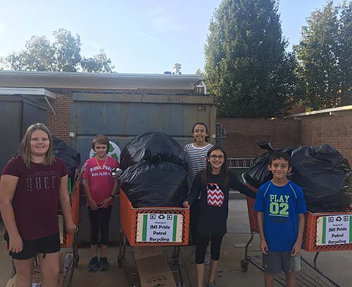 Jasper Middle School: Where Dragon Nation Begins... By Helping Dragons Become GREENER!