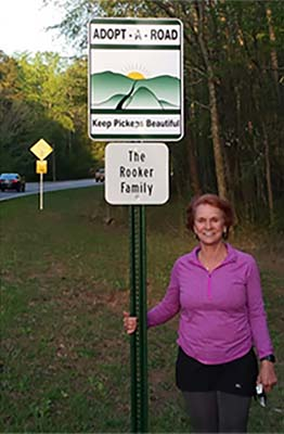 Keep Pickens Beautiful Welcomes Two More to the Adopt A Road Program