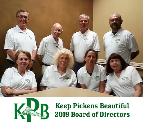 Keep Pickens Beautiful 2019 Board of Directors