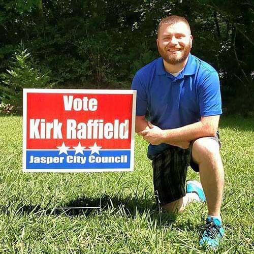Kirk Raffield Announces Candidacy For Jasper City Council