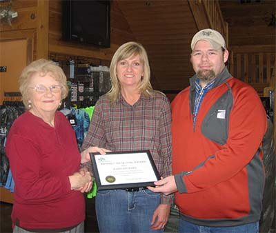 Bargain Barn receives KPB Recycling Award