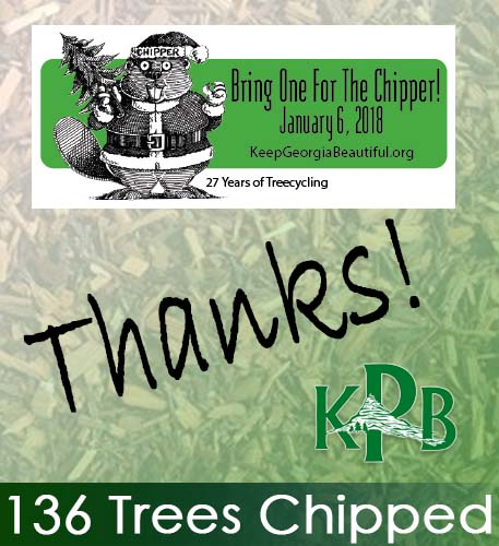 136 Trees Brought For The Chipper