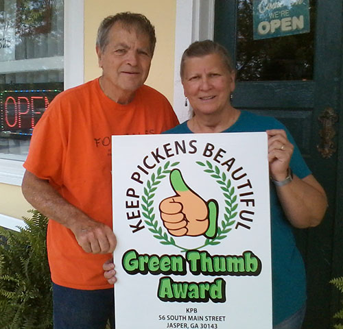 Shadow Creek Gift Shop Awarded KPB Green Thumb Award