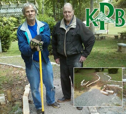 KPB Repaired the Walkway at Lee Newton Park