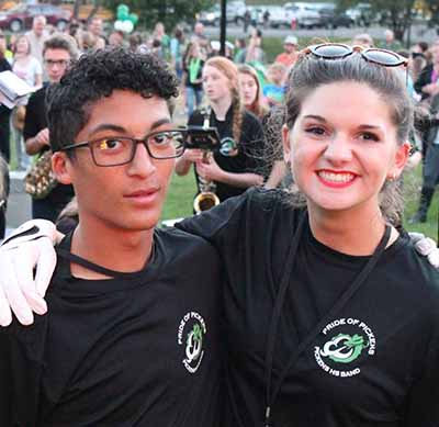 PHS Band Members of the Week: Laney Bledsoe and Elijah Hooks