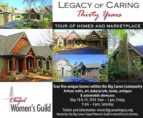 Big Canoe Chapel Women's Guild Celebrates 30 Years of Caring