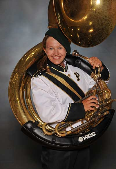 PHS Band Student of the Week:  Lizzie Haughwout