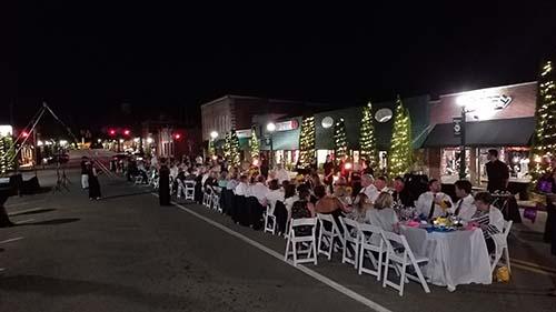 The Long Table Returns to Main Street in Jasper