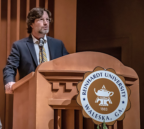 Board of Trustees Name Mark A. Roberts, Ph.D., 21st Reinhardt University President