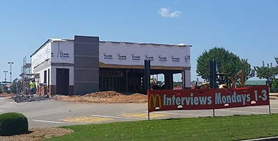 Jasper McDonald's Projected to Open Mid-June After Four-Wall Remodel