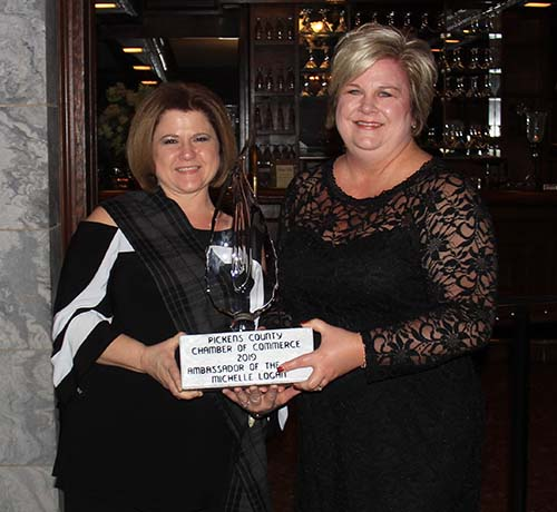 Michelle Logan awarded Ambassador of the Year