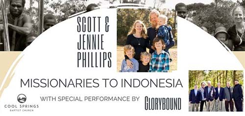 Missionaries to Indonesia to talk at Cool Springs Baptist Church