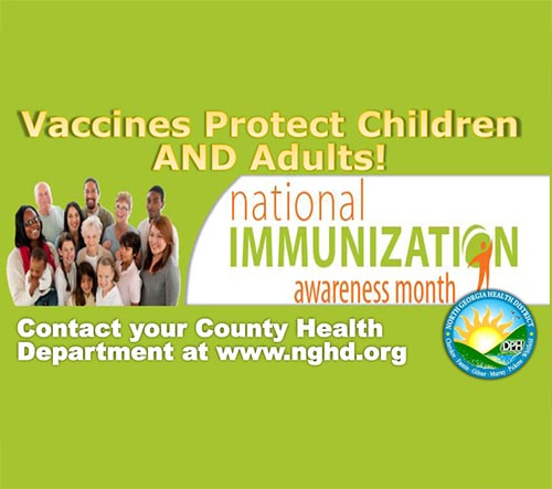 Protect Your Family's Future by Getting Vaccinated this August