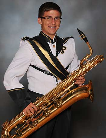 PHS Band Student of the Week:  Noah Hoffbauer