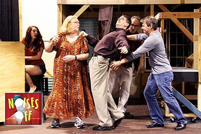 Directing Noises Off : What We Expected and What We Got