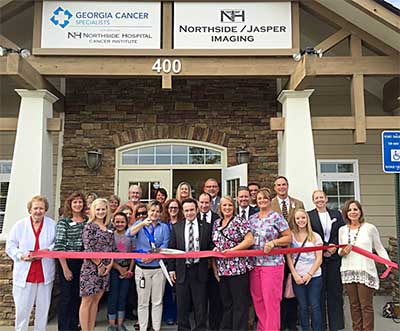 Northside Jasper Imaging Ribbon Cutting