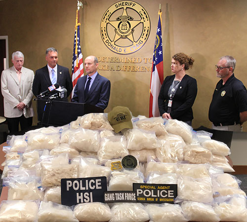 'Operation 'The Real McCoy' Yields 47 Arrests for Gang & Drugs Charges
