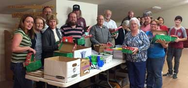 Packing Parties Abound Throughout County as Operation Christmas Child National Collection Week Nears