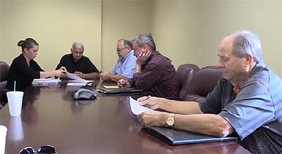 Pickens County Beer and Wine Board Quarterly Meeting