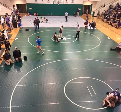 Pickens Wrestling Area Tournament Results
