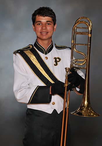 PHS Band Student of the Week:  Dillon Shelton