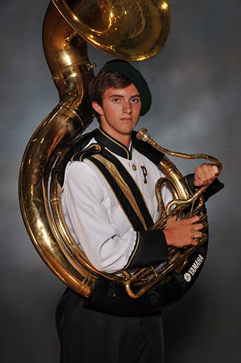 PHS Band Student of the Week:  Joseph Angelisanti
