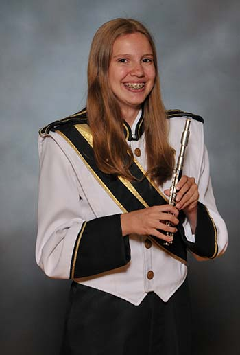 PHS Band Student of the Week:  Kayla Roberts