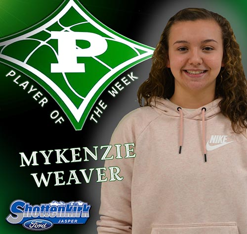 Mykenzie Weaver Named Nettes Basketball Player of the Week