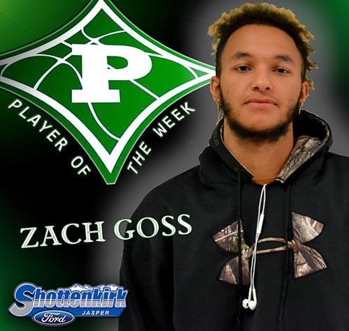 Zach Goss Named PHS Basketball Player of the Week