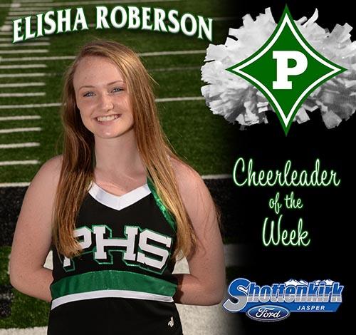 Elisha Roberson Named PHS Cheerleader of the Week
