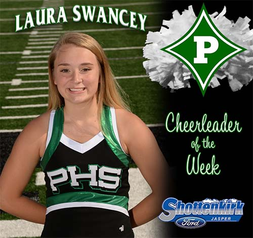 Laura Swancey Named PHS Cheerleader of the Week