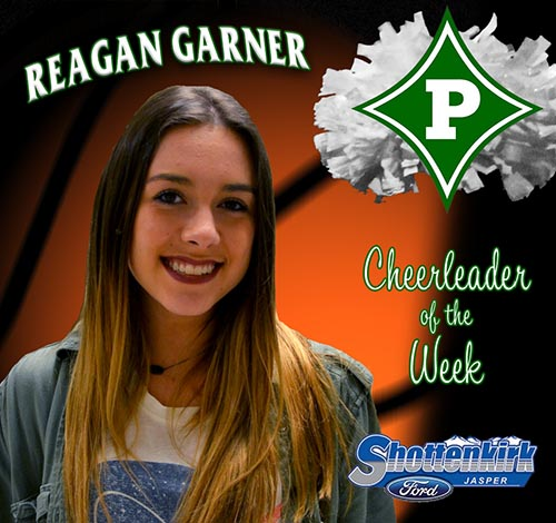 Reagan Garner Named PHS Basketball Cheerleader of the Week