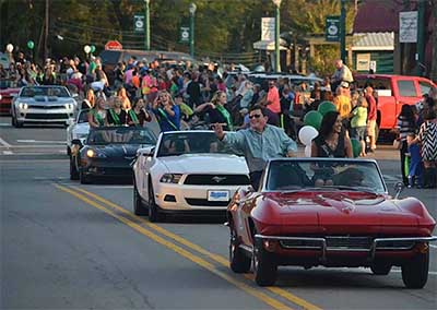 PHS Homecoming Parade & Bonfire