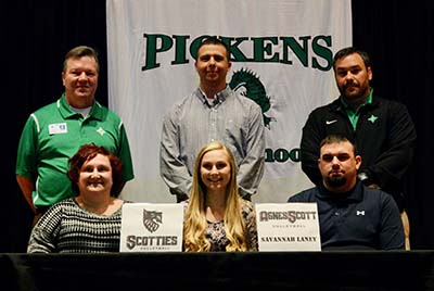 Two PHS Athletes Signed with Georgia Colleges