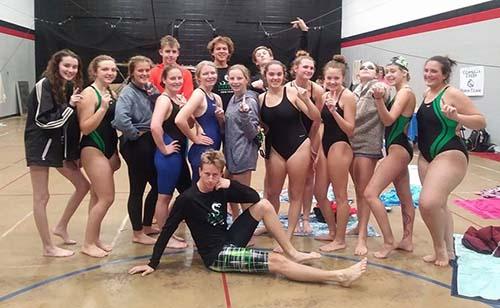 PHS Swim Team Compete at the Battle of Dalton
