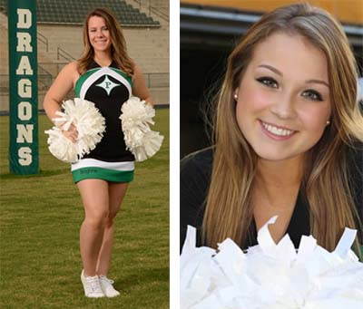 PHS Cheerleaders of the Week: Taylor Haynes and Kerrie Lee