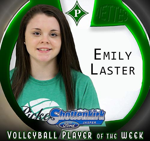 Emily Laster Named PHS Nettes Volleyball Player of the Week