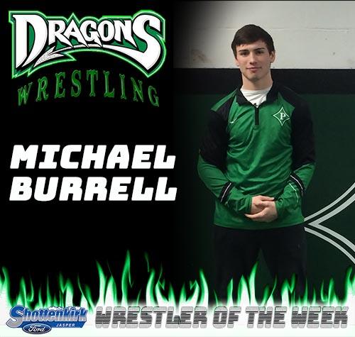 Michael Burrell Named PHS Wrestler of the Week