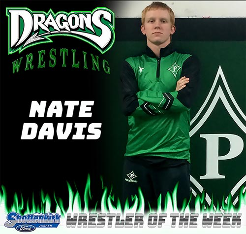 Nate Davis Named PHS Wrestler of the Week