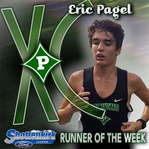 Eric Pagel Named PHS XC Runner of the Week