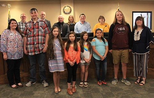 Pickens 4-H District Project Achievement (DPA) participants