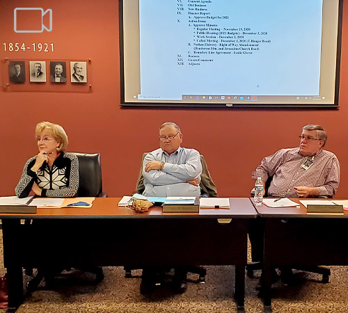 Pickens Board of Commissioners Public Hearing | Right-of-Way Abandonment