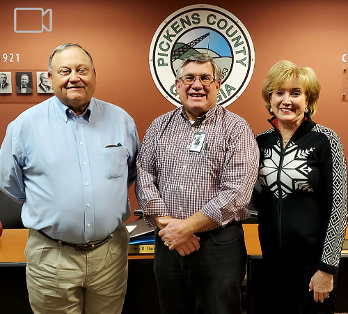 Pickens County Board of Commissioners December 2020