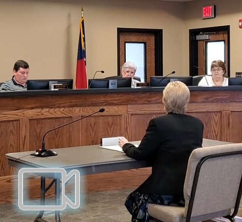 Pickens Board of Education Called Budget Work Session June 2020