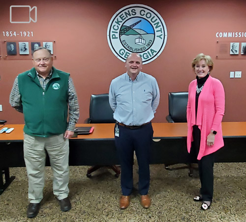Pickens County Board of Commissioners January 2021
