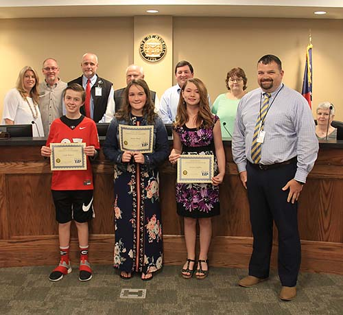 Pickens County Board of Education June 2019